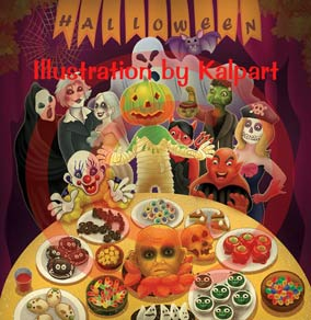 Halloween-Illustration-www.kalpart.com