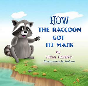 Raccoon-mask-animal-story-children-book-kalpart-tina-ferry-bedtime