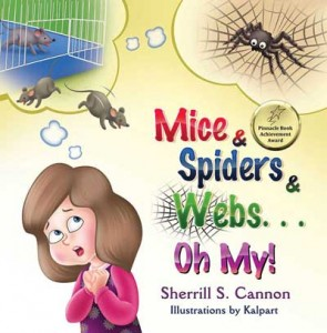 Kalpart Illustrated Mice & Spiders with Pinnacle award sticker