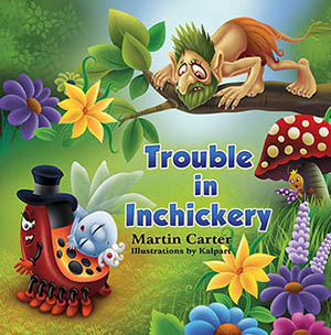 Children book Troll Princess Mushroom kalpart illustration publish