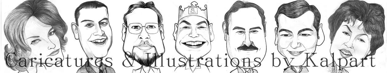 Kalpart Caricatures and Illustrations