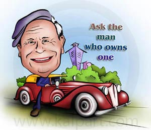 www.kalpart.com Car Caricature Picture
